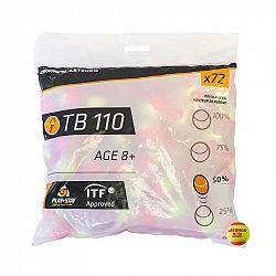 ARTENGO Tenisové Loptičky Tb110 72 Ks